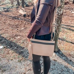 *Host Pick* Cute Cream/Beige Crossbody Bag